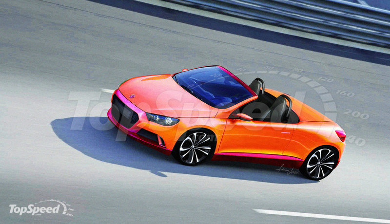VW Scirocco Roadster