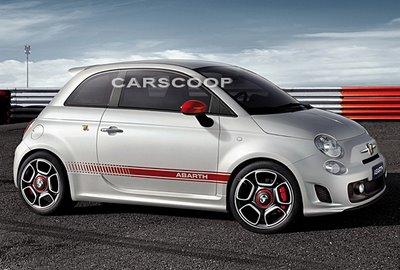 fiat 500 abarth lateral