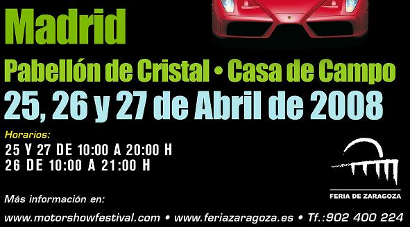 horario madrid tunning show 2008