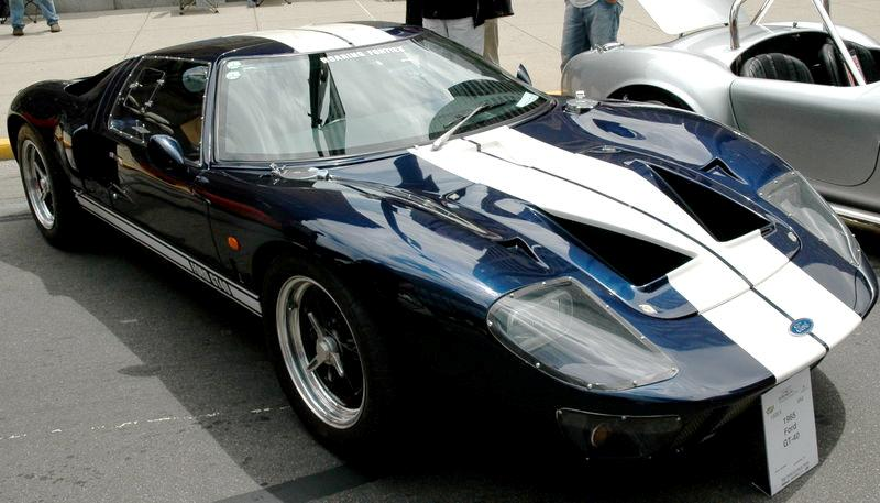 ford gt 40 frontal