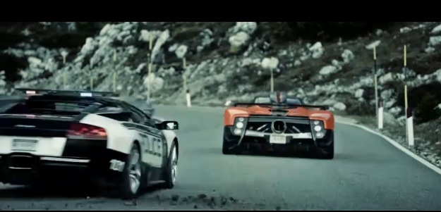 Vídeo need for speed hot pursuit pagani vs lambo