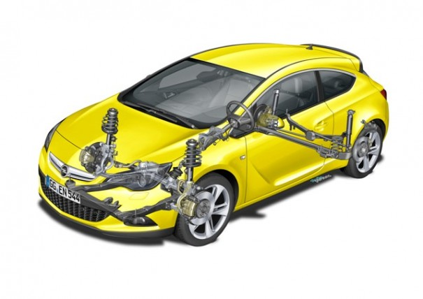 Astra GTC Exclusive High Performance Chassis