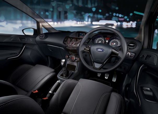 interior Ford Fiesta Sport Match