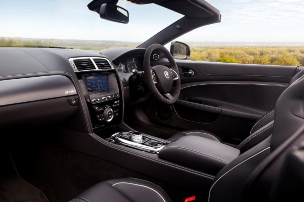 INTERIOR JAGUAR XKR-S CONVERTIBLE