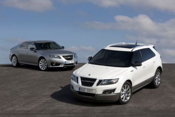 Saab 9-4X 9-5 Sedan Top Safety Pick 2012