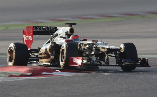 Romain Grosjean lotus f1 2012