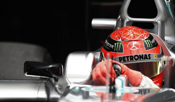 michael schumacher china f1 2012