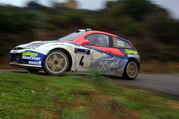 ford focus carlos sainz