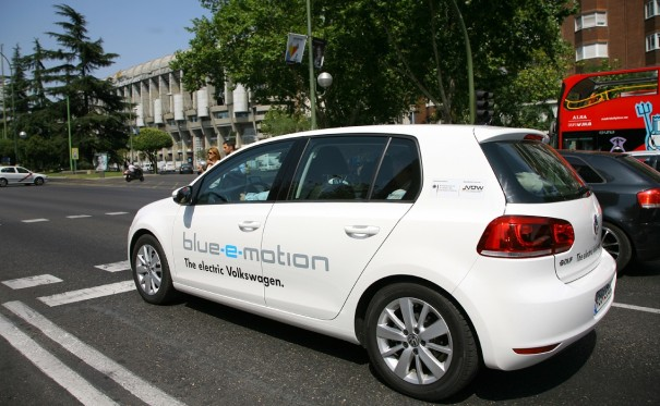 Golf Blue e Motion Madrid