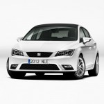 seat leon 2012 frontal