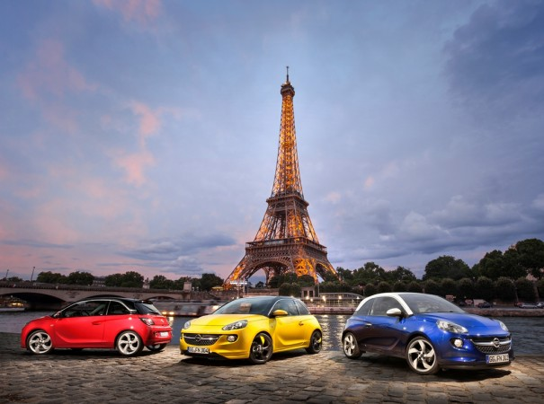 opel adam paris