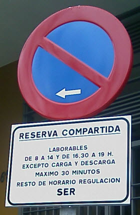 carga y descarga horario laboral