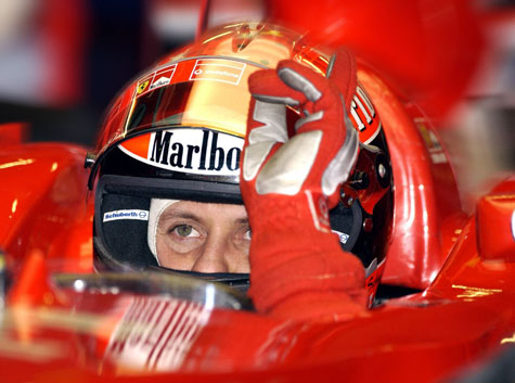 michael schumacher accidente esqui