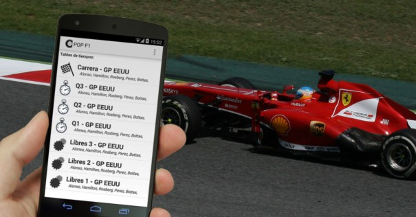 pop f1 android