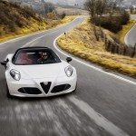 Alfa Romeo 4C Spider 2015 MOVIMIENTO