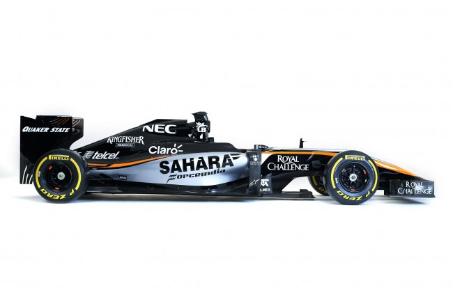 Force India VJM08 lateral
