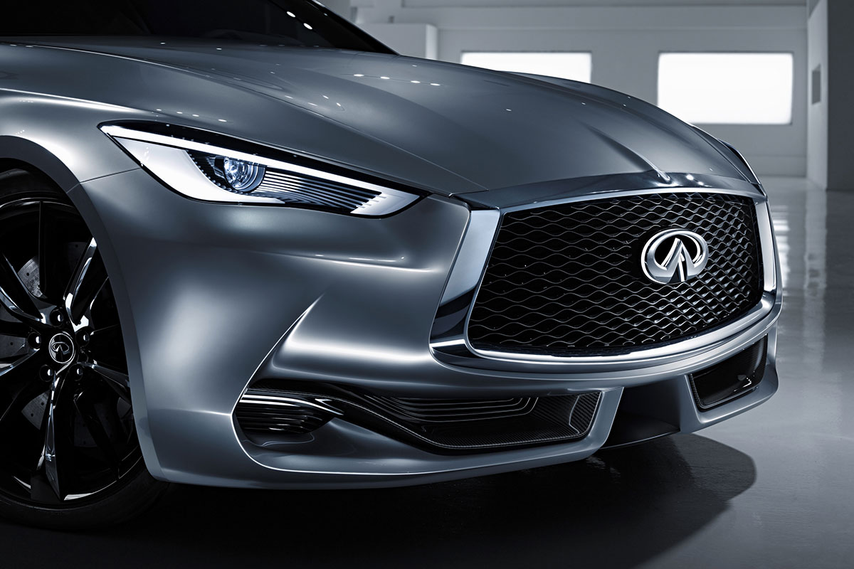 INFINITI Q 60 Concept frontal
