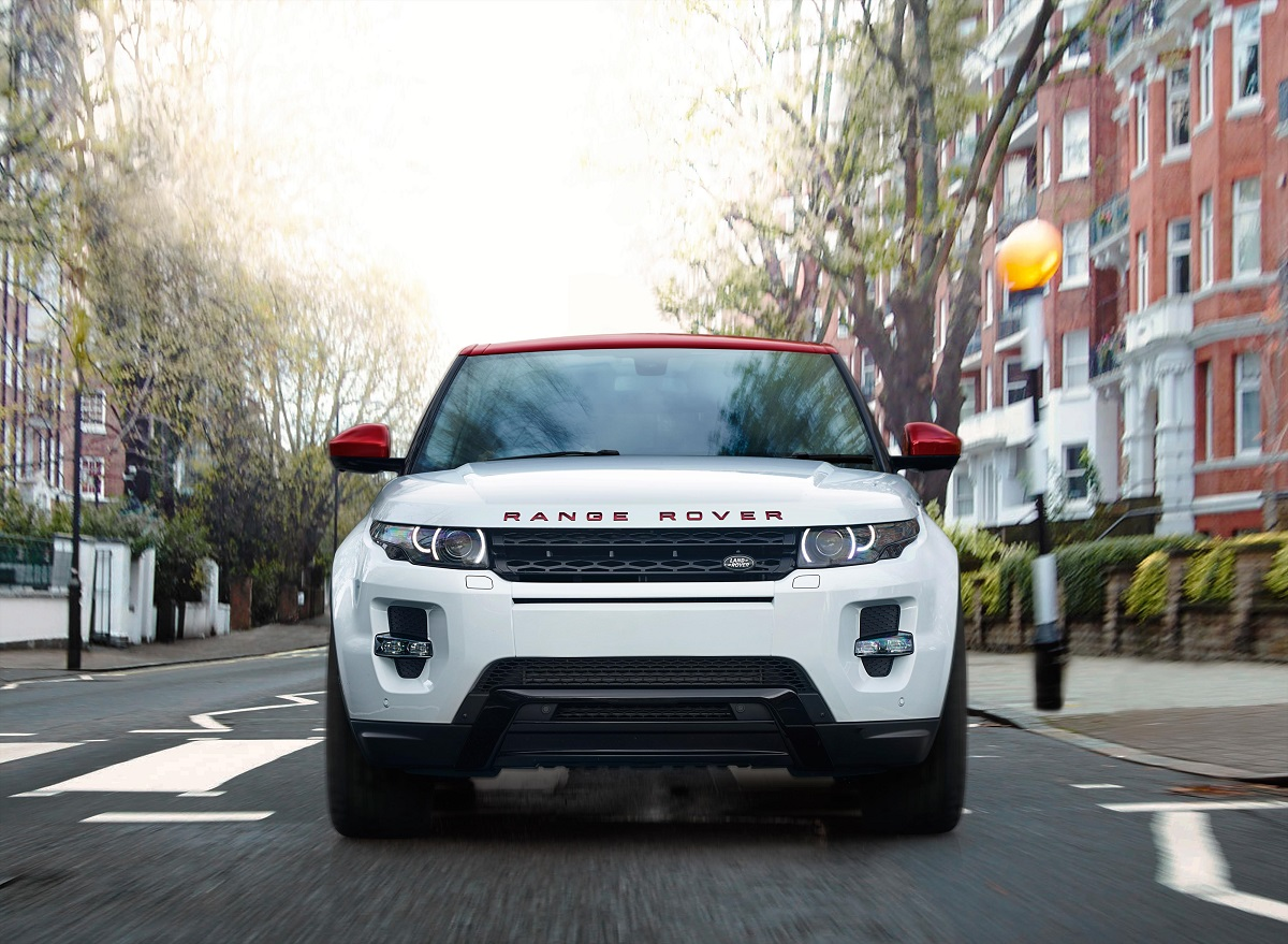 Range Rover Evoque British Edition frontal