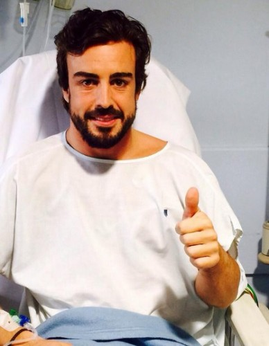 fernando alonso hospital