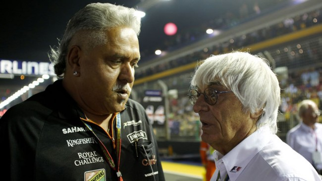 Vijay Mallya Force India