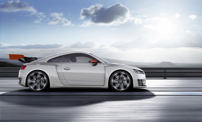 Audi TT clubsport turbo concept lateral