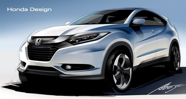 Honda HR-V Design