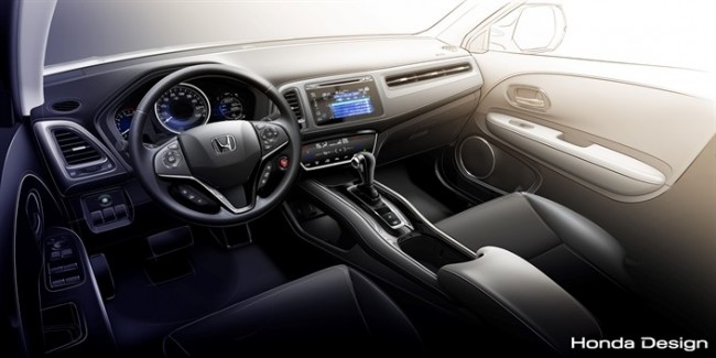 Honda HR-V Design interior