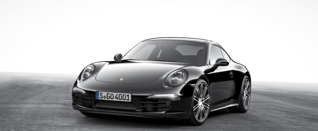 Porsche Boxster y 911 Carrera Black Edition