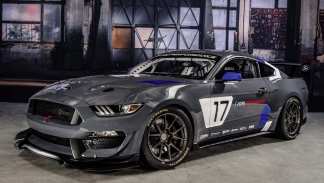 ford mustang gt4 frontal