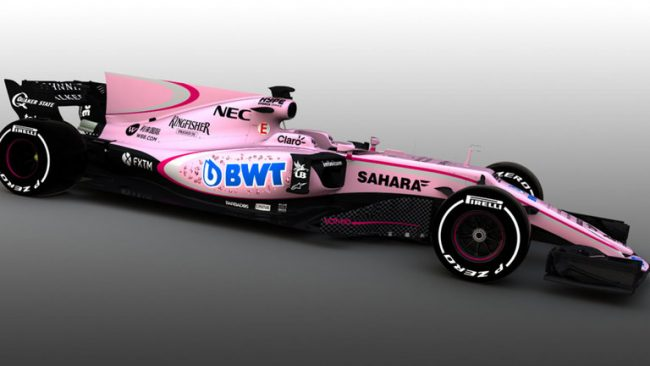 force india bwt rosa